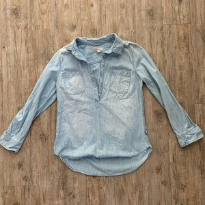 Denim shirt size L